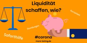 Liquidität schaffen
